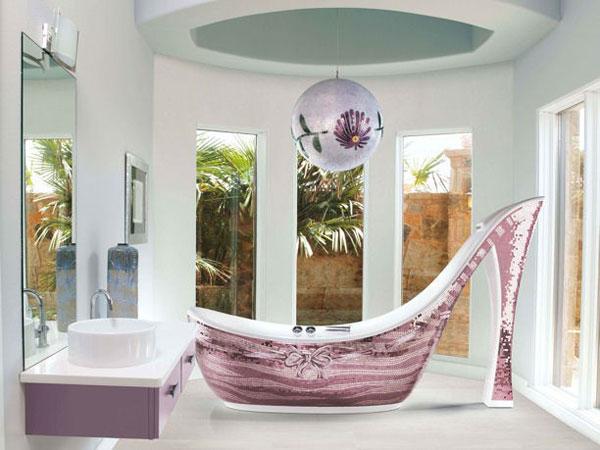 Audrey bathtub by Sicis