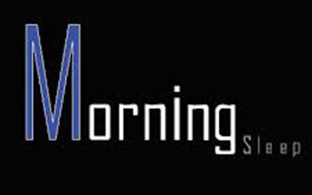 Morning-sleep