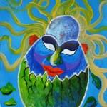 ........... - - -  Technique: Acrylic on canvas Size: 35X40 cm. Price: 1200 USD