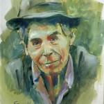 Art Name : man/Technique : Oil on canvas   /Size ; 45 x 60 cm./Price : 5,000 USD