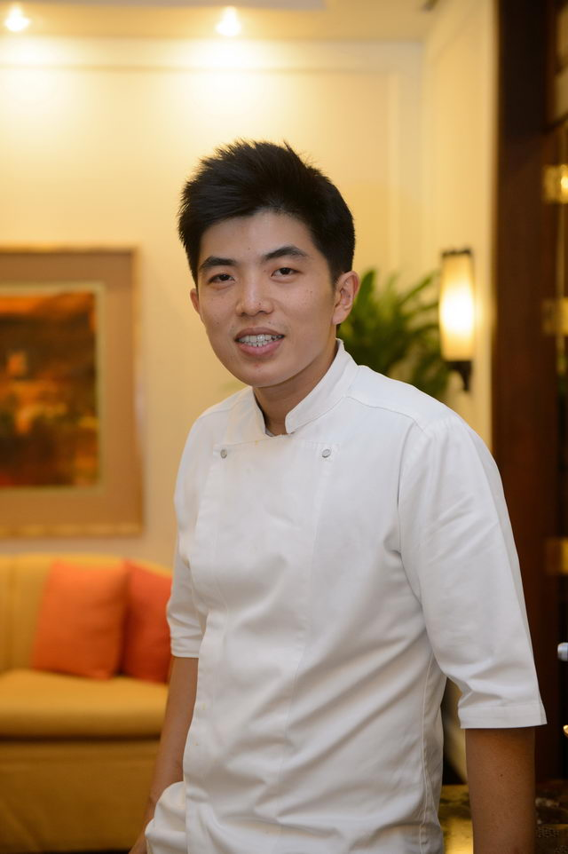 Chef Ton from Le Du restaurant 2