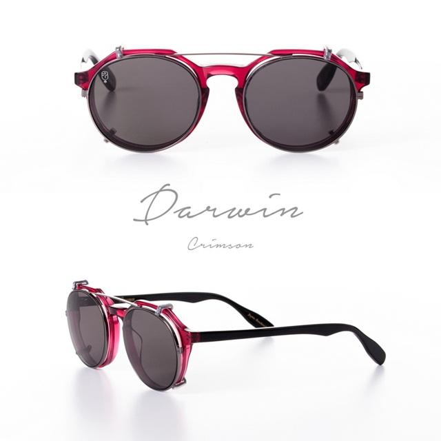 DARWIN CRIMSON x clip black set