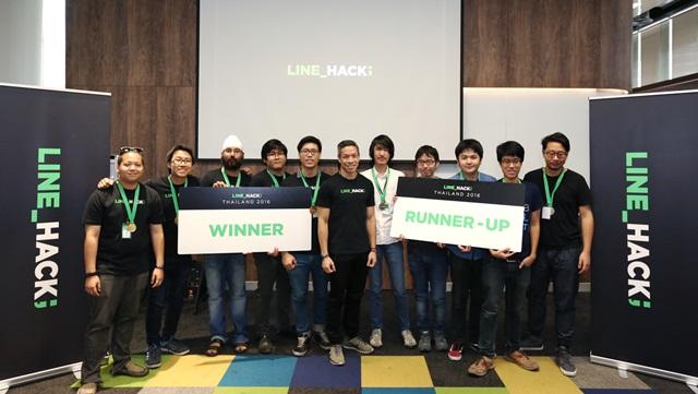 LINE HACK Winners